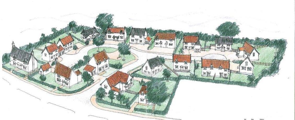 Chapel Farm plan indicative layout